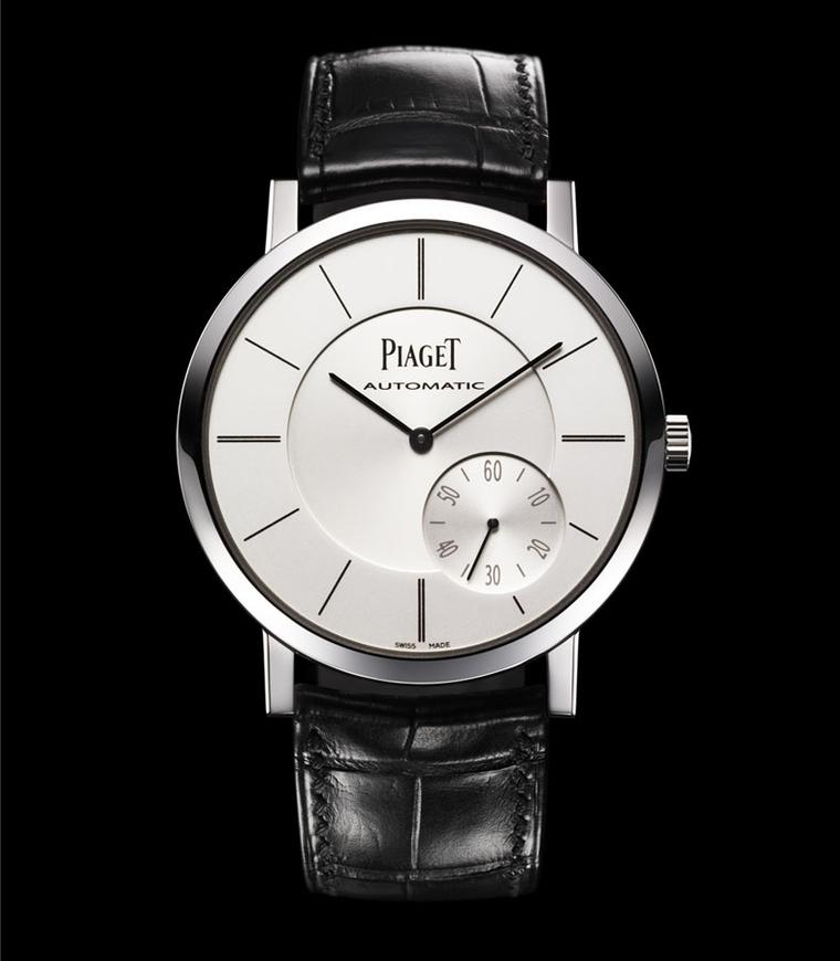 Piaget Altiplano. The Altiplano in white gold with a seconds display at 4 o'clock