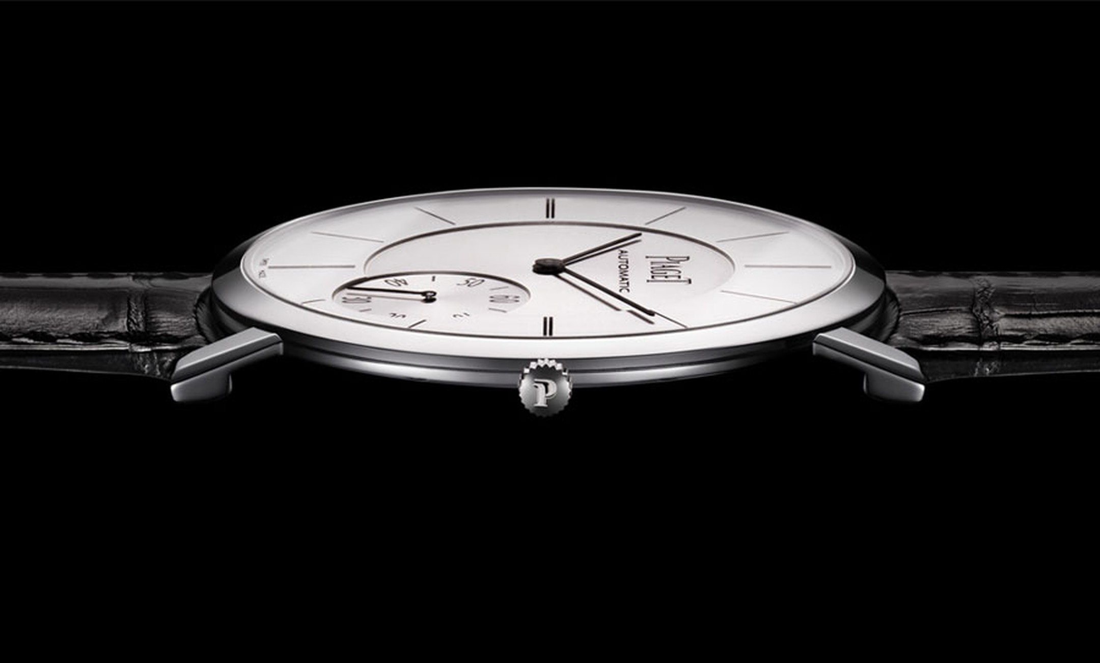 Piaget Altiplano. Wafer-thin, the Piaget Altiplano is but 5.25mm high
