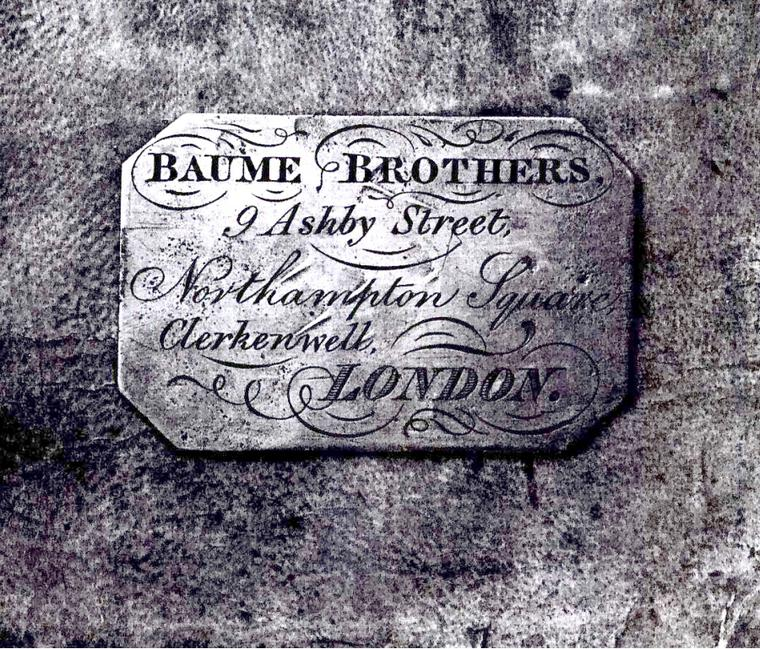 Baume et Mercier Baume brothers london 1857