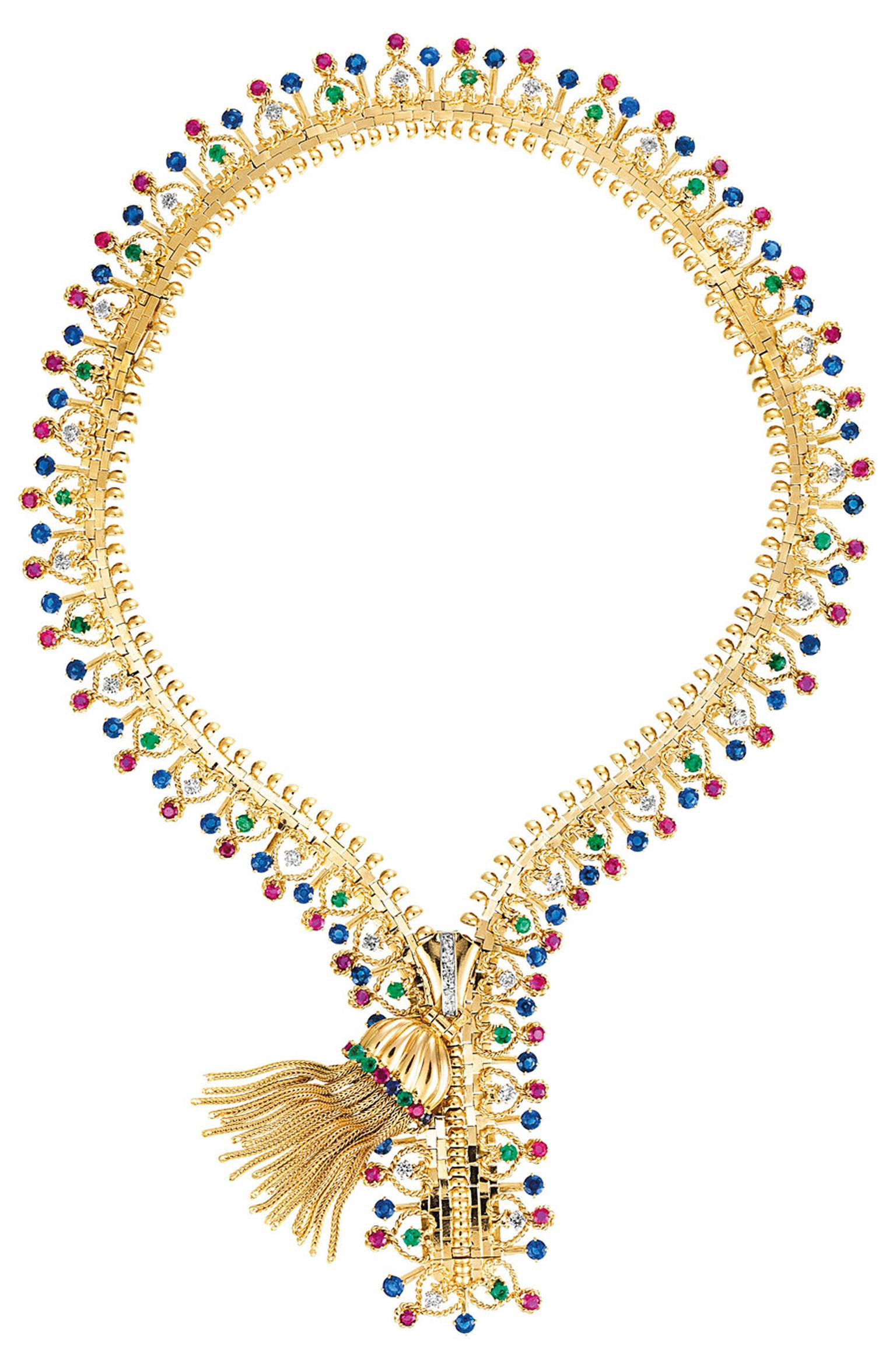Van-Cleef-Arpels-Zip-necklace-1951-Van-Cleef-Arpels-Collection