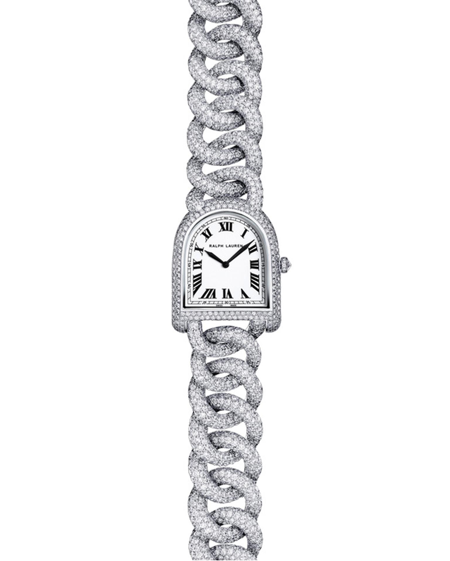 Ralph Lauren Petite Link White Gold Full Pave_20140505_Main