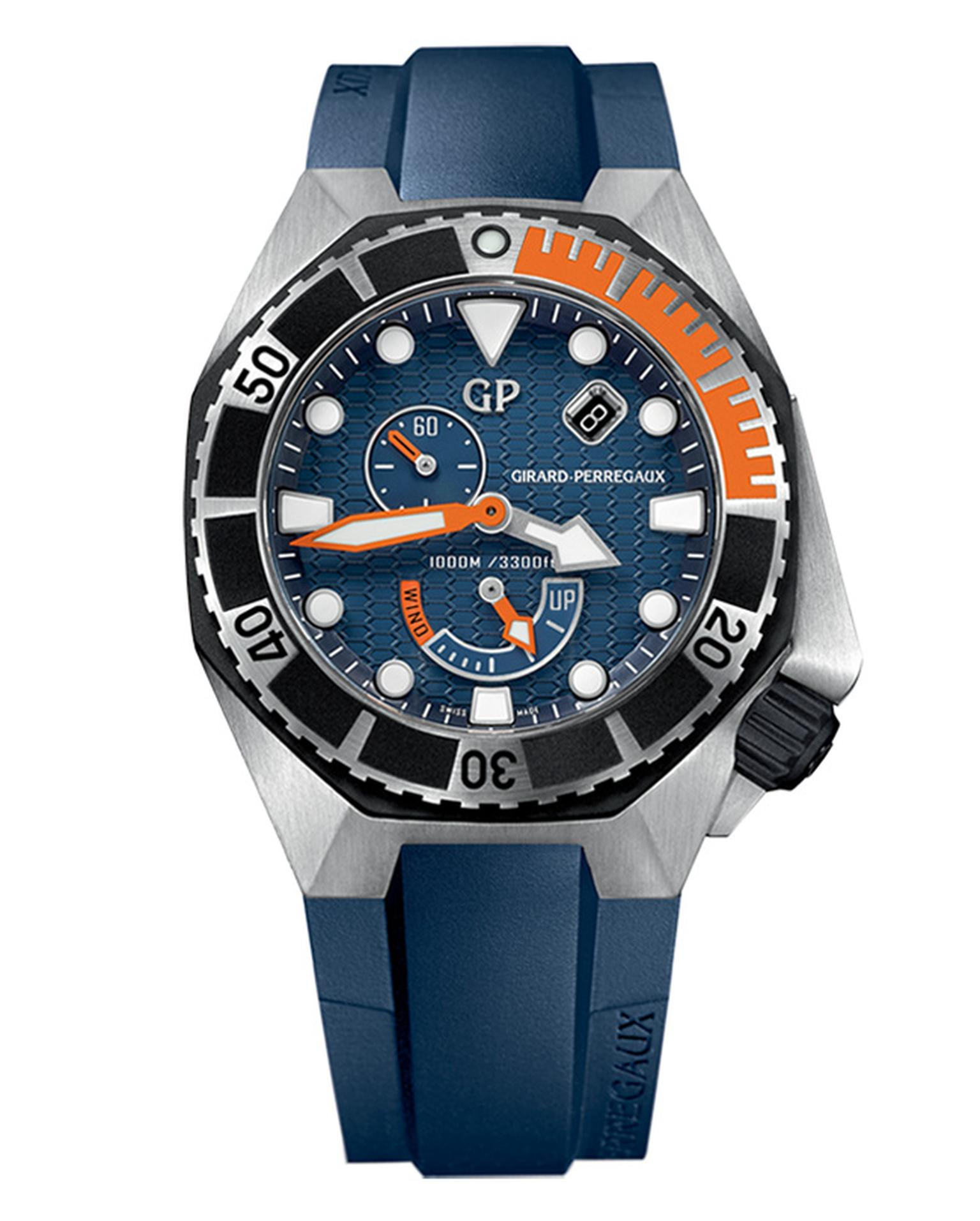 Girard-Perregaux Sea Hawk in steel & rubber _20140505_Main
