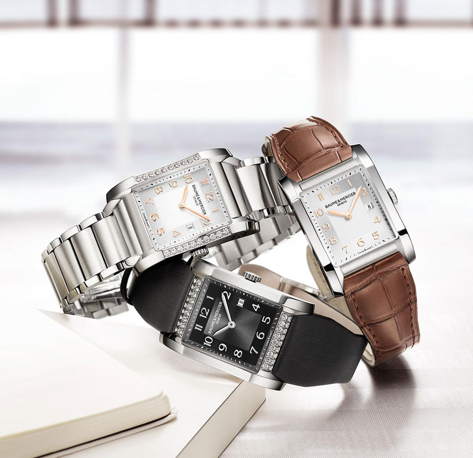 Baume et Mercier. Hampton product shot. 2 MAIN PIC