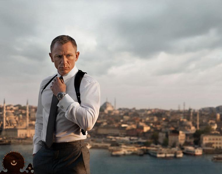 OMEGA finds Bond fighting fit in Skyfall