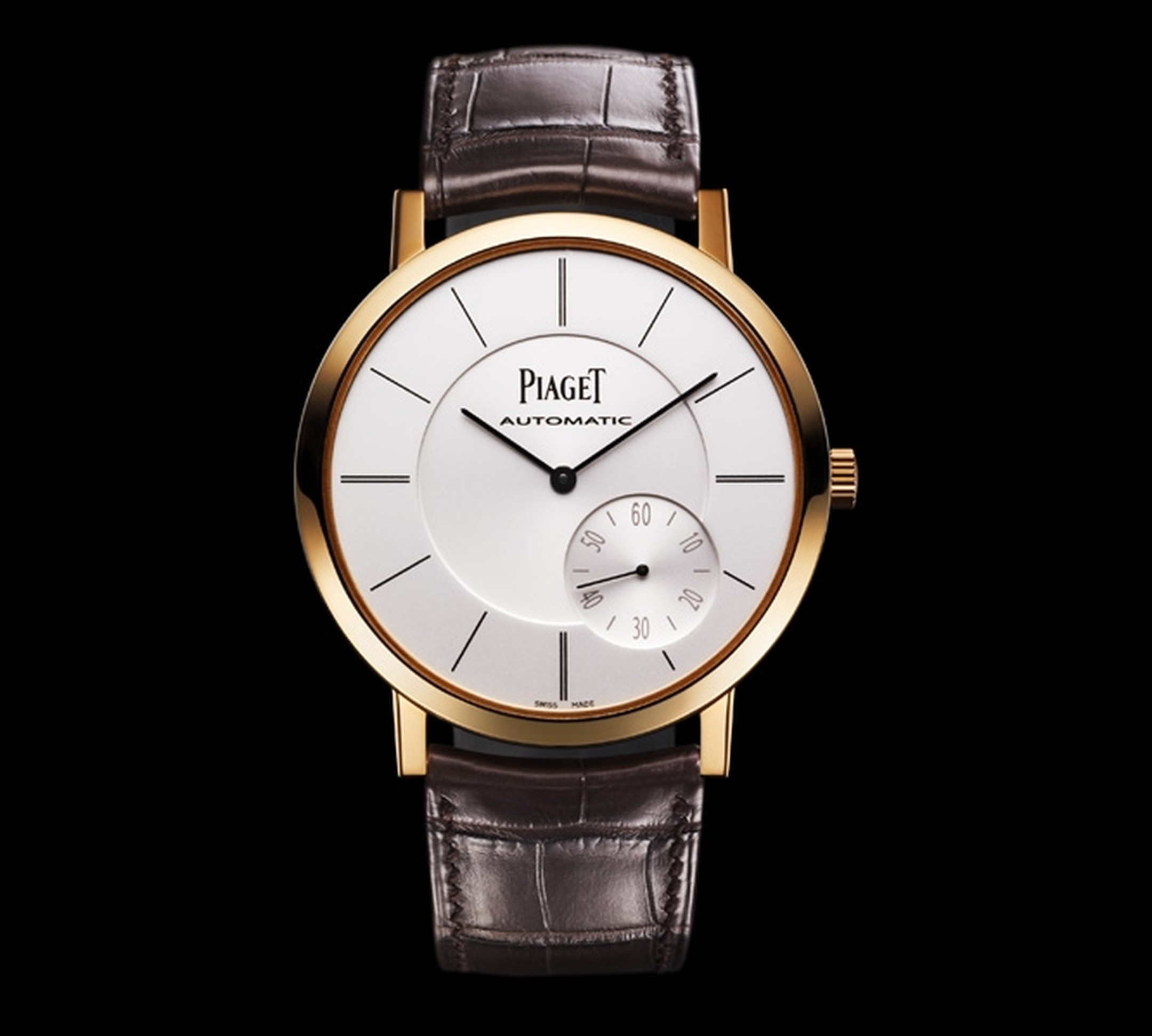 Piaget Altiplano in pink gold, slender and elegant in every detail (square)