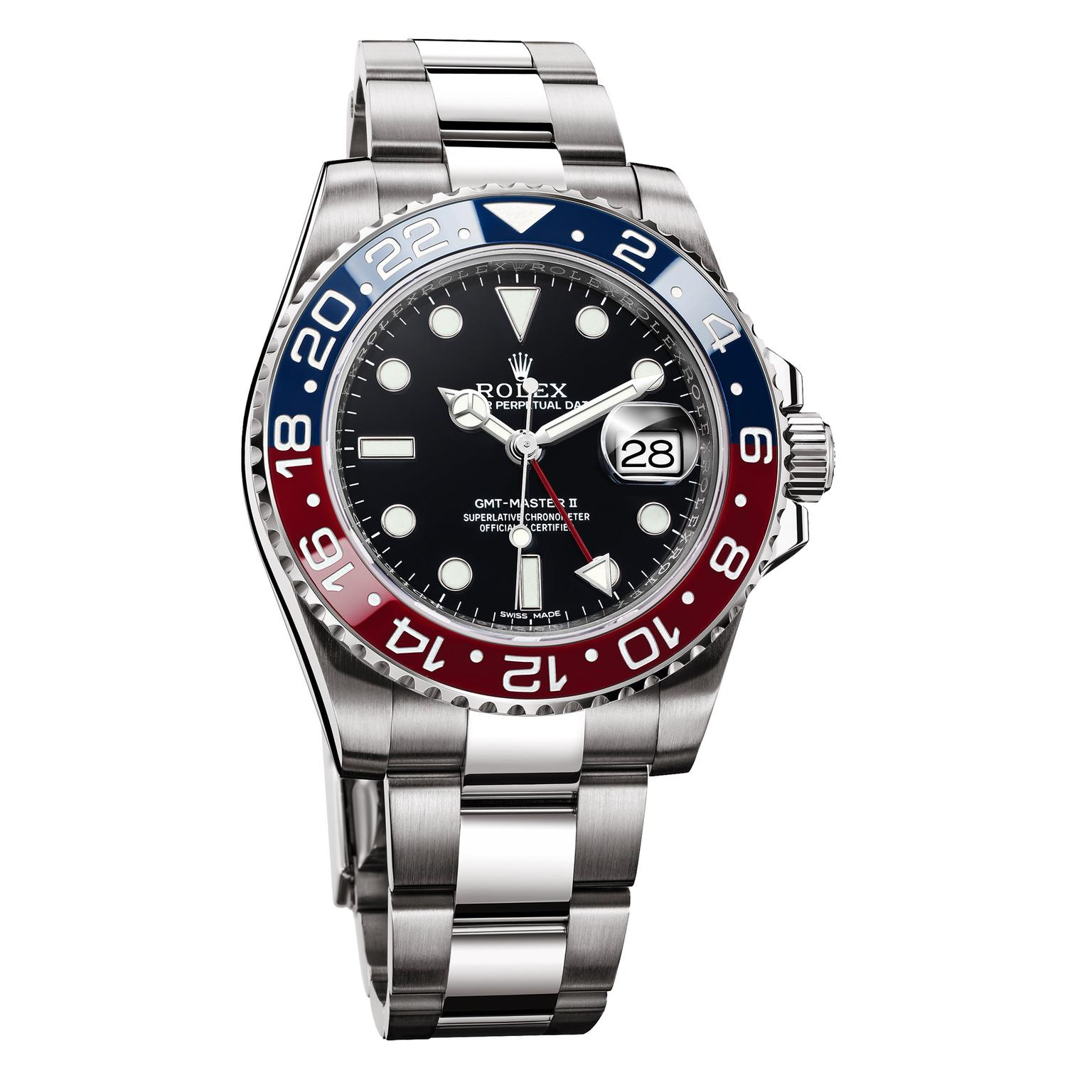 23f05e91fa8 ... Oyster Perpetual Gmt-Master Ii With A Cerachrom 'Pepsi' Bezel. Rolex GMT -Master Pepsi watch. Rolex Pepsi Zoom