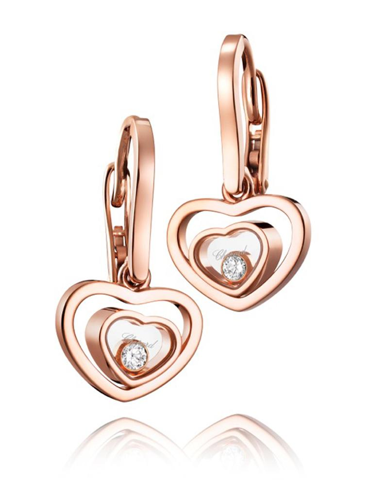 Chopard. Happy Hearts earrings V2