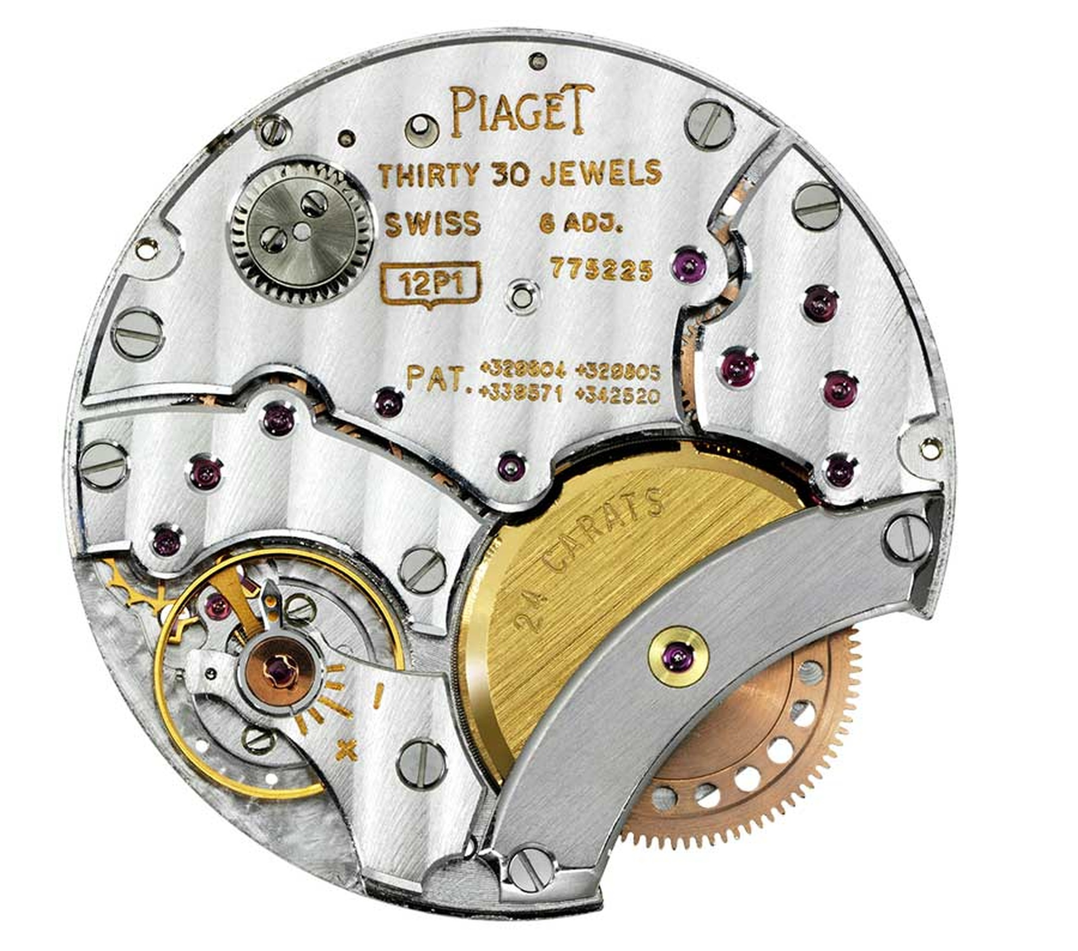 Piaget Ultra-Thin 43 mm automatic 1208 P calibre