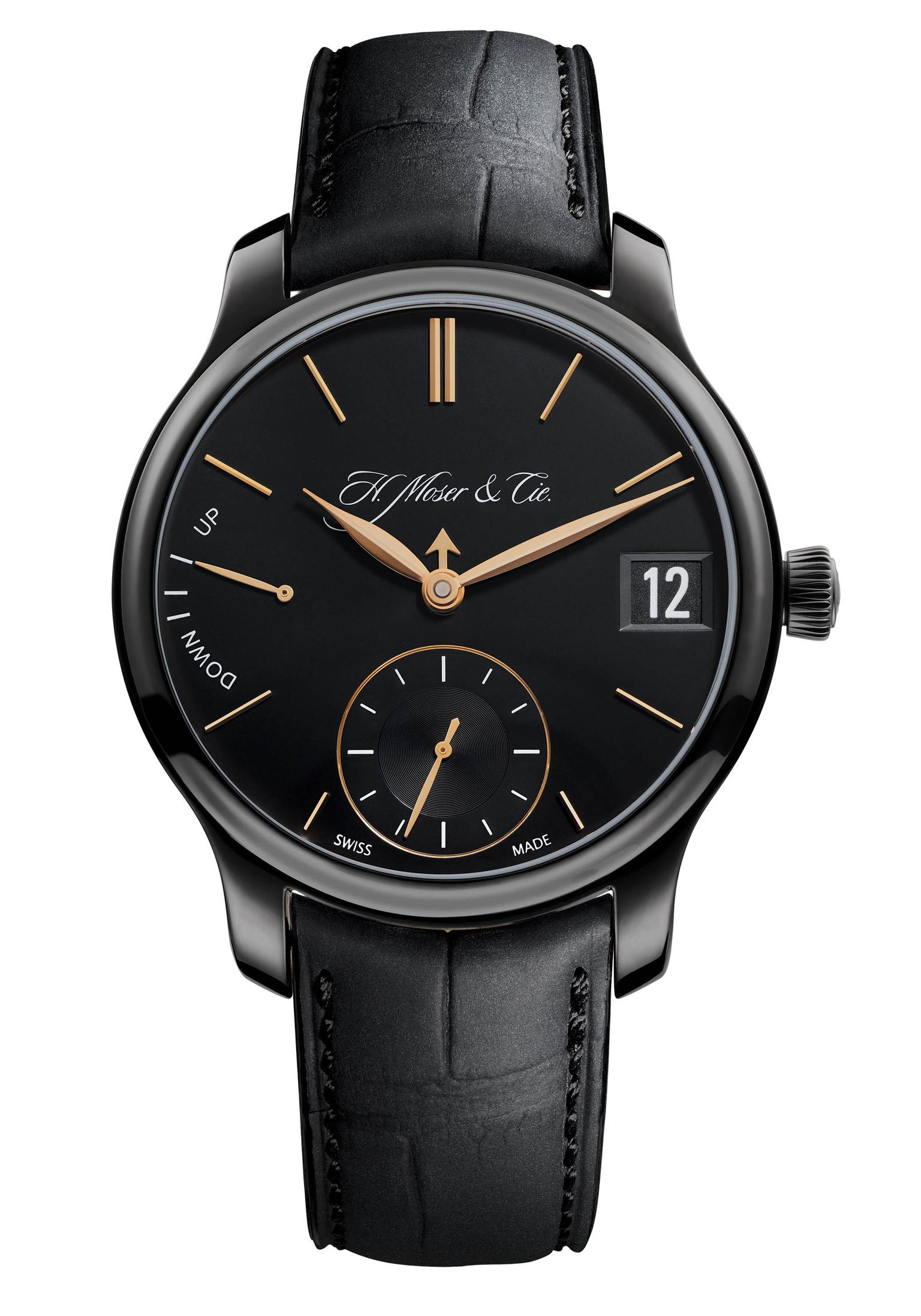 H.-Moser-&-Cie-P-Calendar-Black-Watch-Zoom