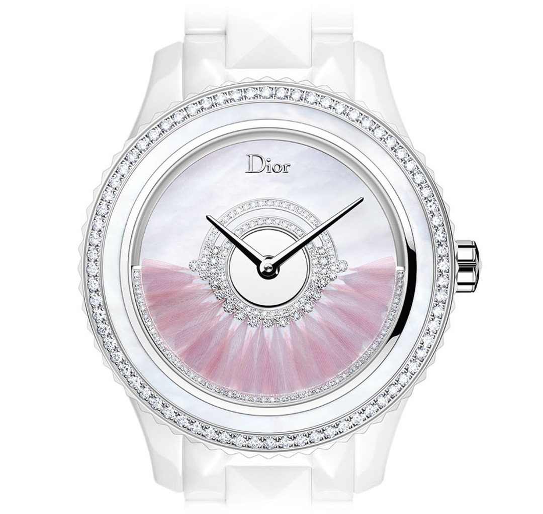 DIOR-VIII-GRAND-BAL-PLUMES-MODEL-WHITE-38mm-Front