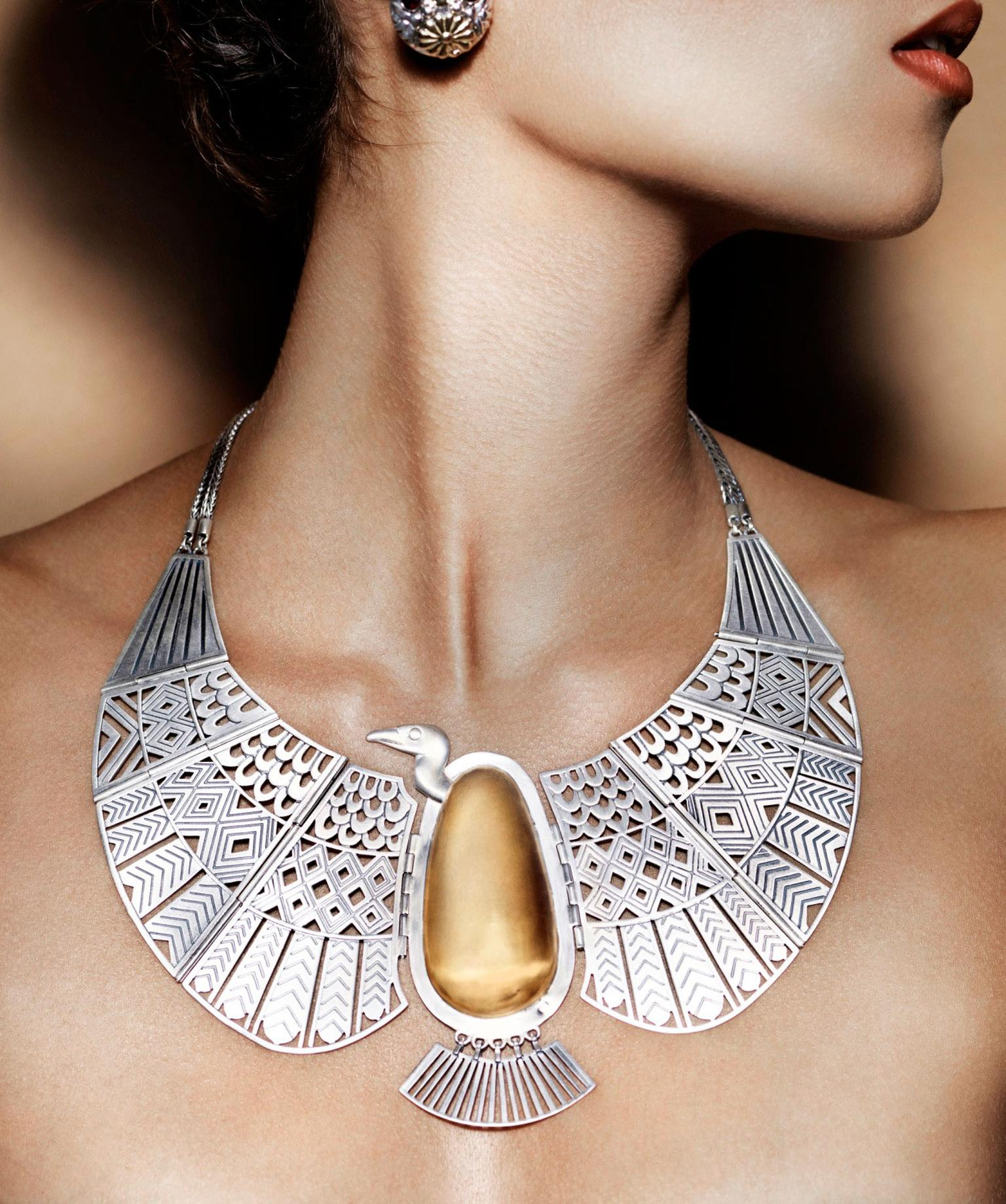 Azza-Fahmy-Sterling-Silver-and-18ct-Gold-Vult