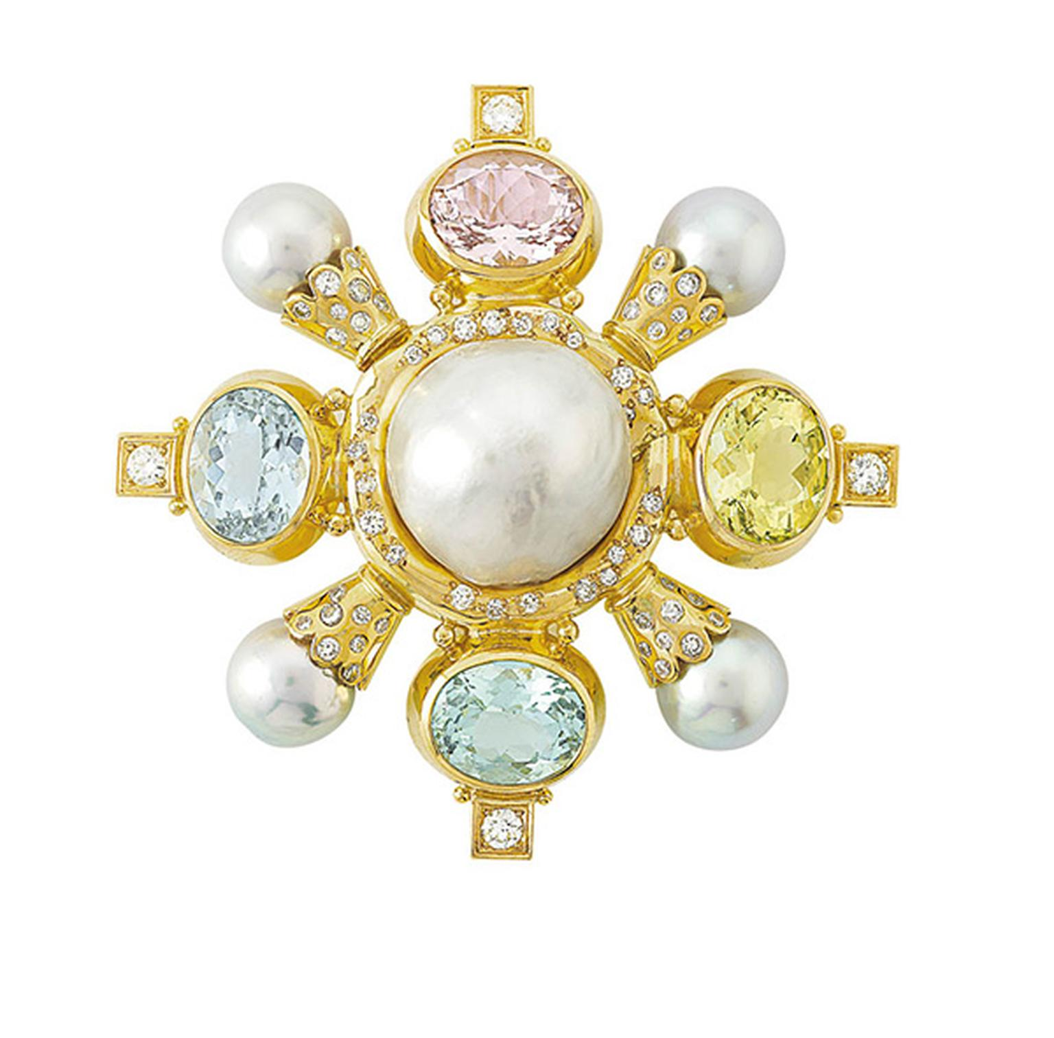 South-sea-Baroque-silver-pearl-and-also-features-Aquamarine-Green-Beryl-Yellow-Beryl-and-Pink-Beryl-all-from-Mozambique