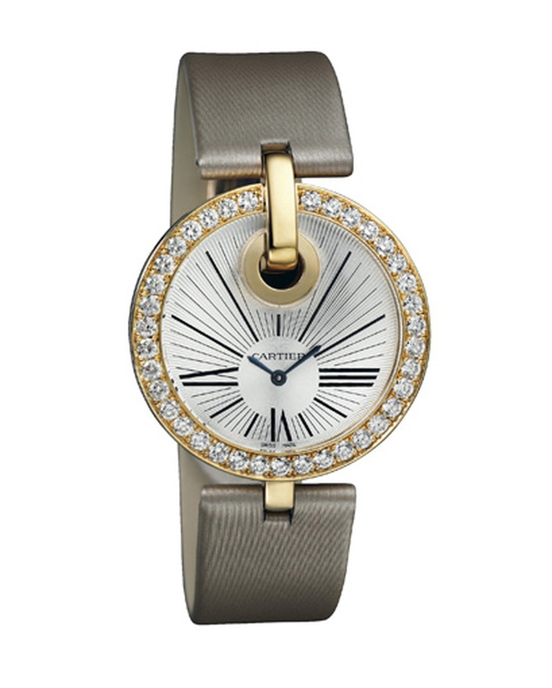 Cartier. Captive de Cartier watch. LM model 35mm, diamonds and yellow gold. Price from £24,000.jpg