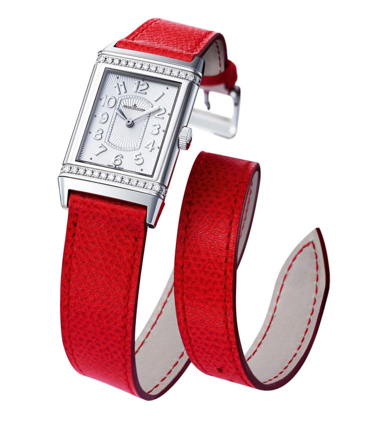 Jaeger-LeCoultre Grande Reverso ladiess Ultra Thin by Valextra.