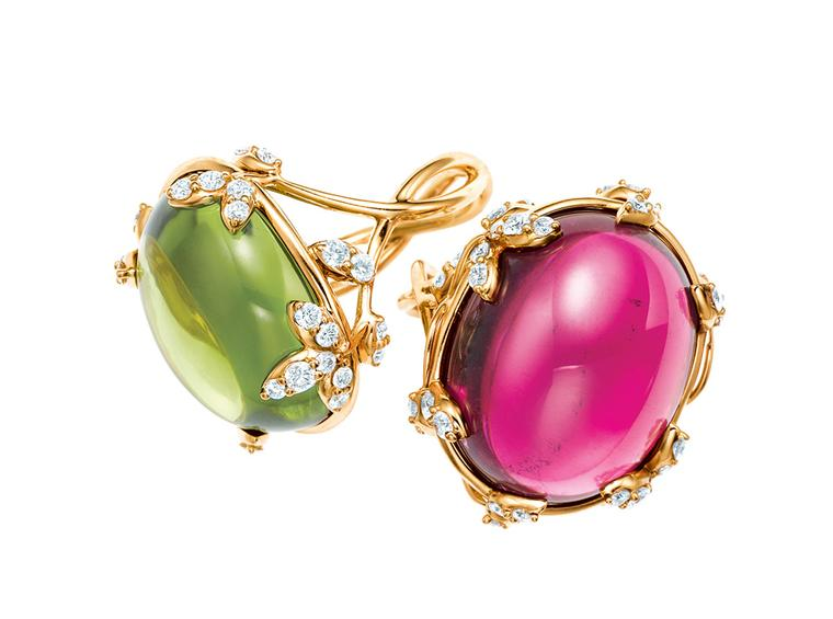 Paloma Picasso creates an exuberant new Olive Leaf collection of jewels for Tiffany and Co.