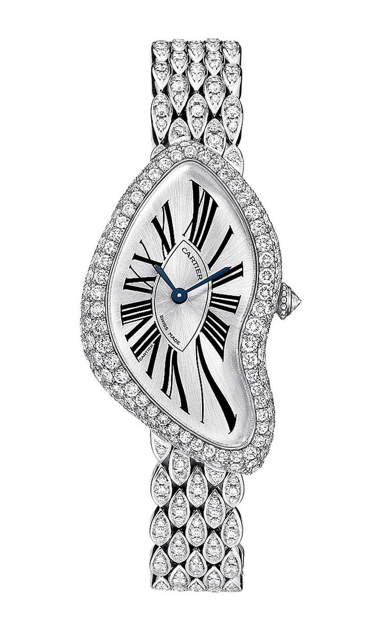 Cartier-Crash-white-gold-and-Diamonds