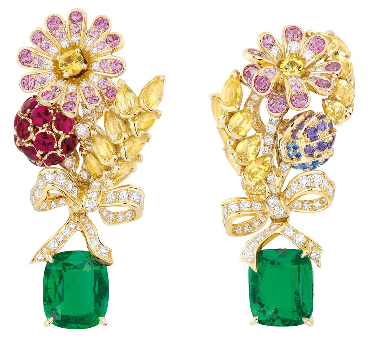 Dior-PRECIEUSES-CHAMPETRE-EARRINGS-EMERALD