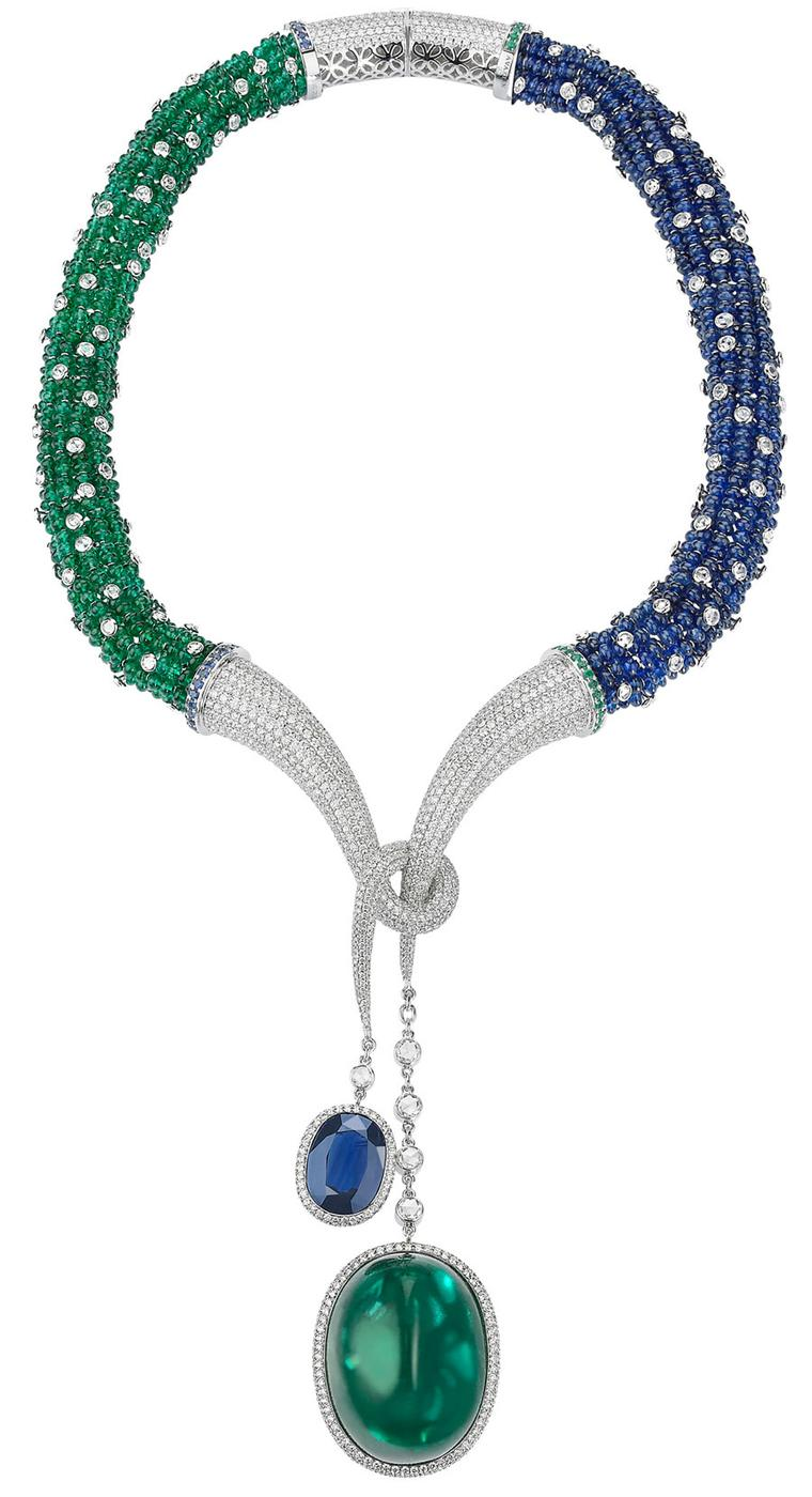Avakian-Cabochon-Emerald-Necklace