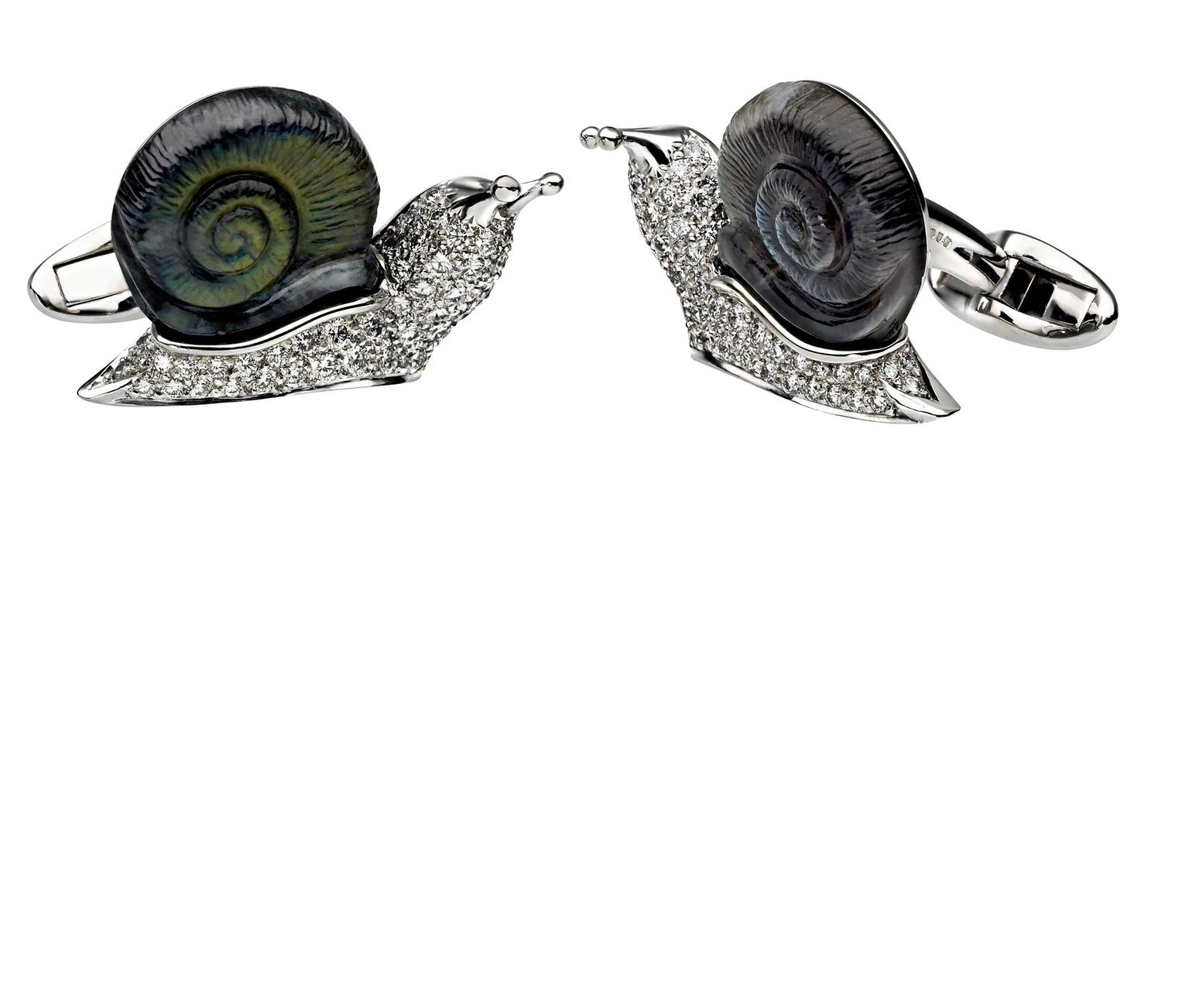 David-Marshall-Snail-Cufflinks-zoom