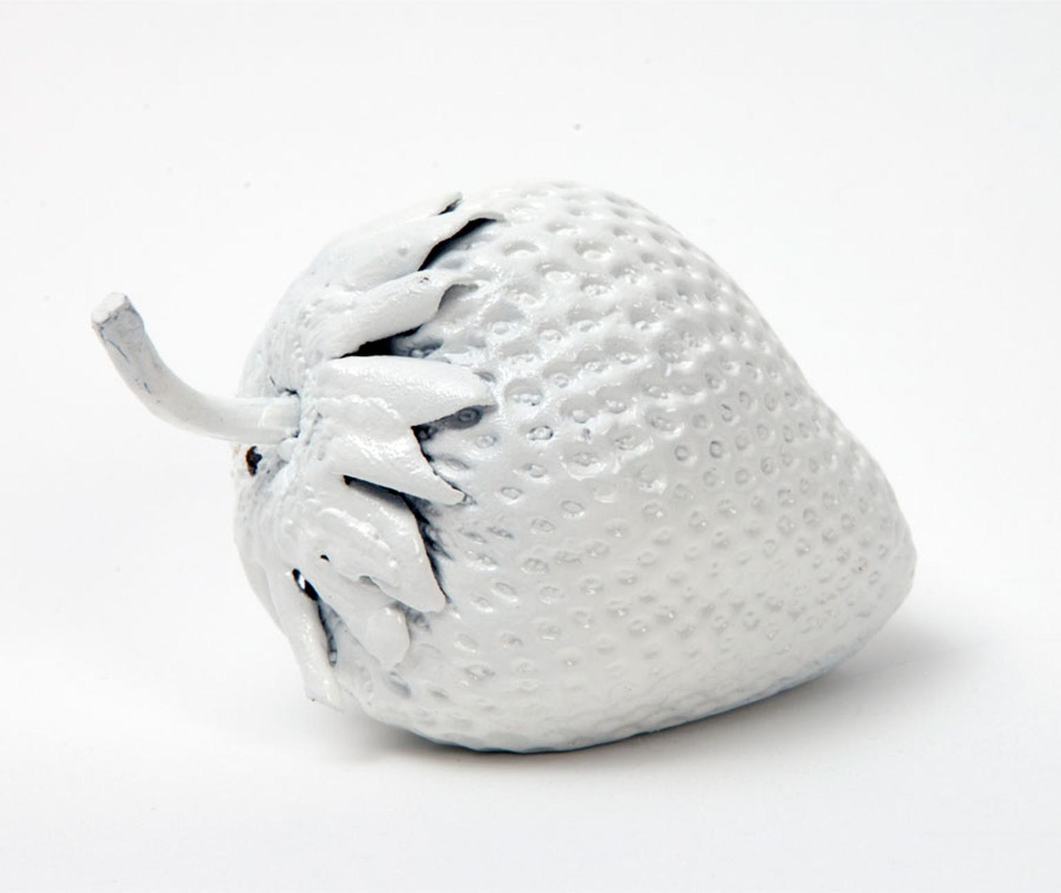 Marc Quinn at Selfridges Bronze white strawberry sculpture Price from 1500