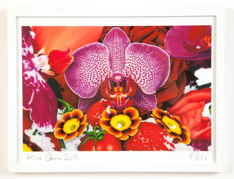 Marc Quinn at Selfridges Limited-edition print Kashi Edition Framed Price from £370