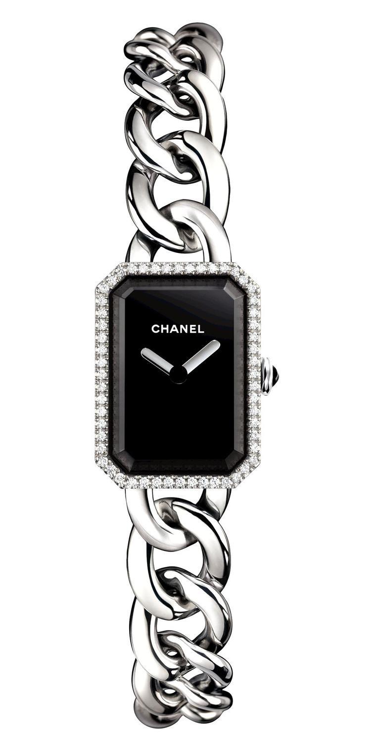Chanel-Premiere-watch-acier-diamants-PM-H3252