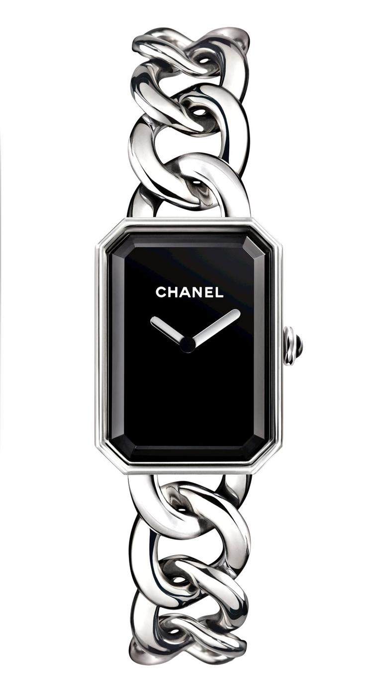 Chanel-Premiere-watch-acier-GM-H3250