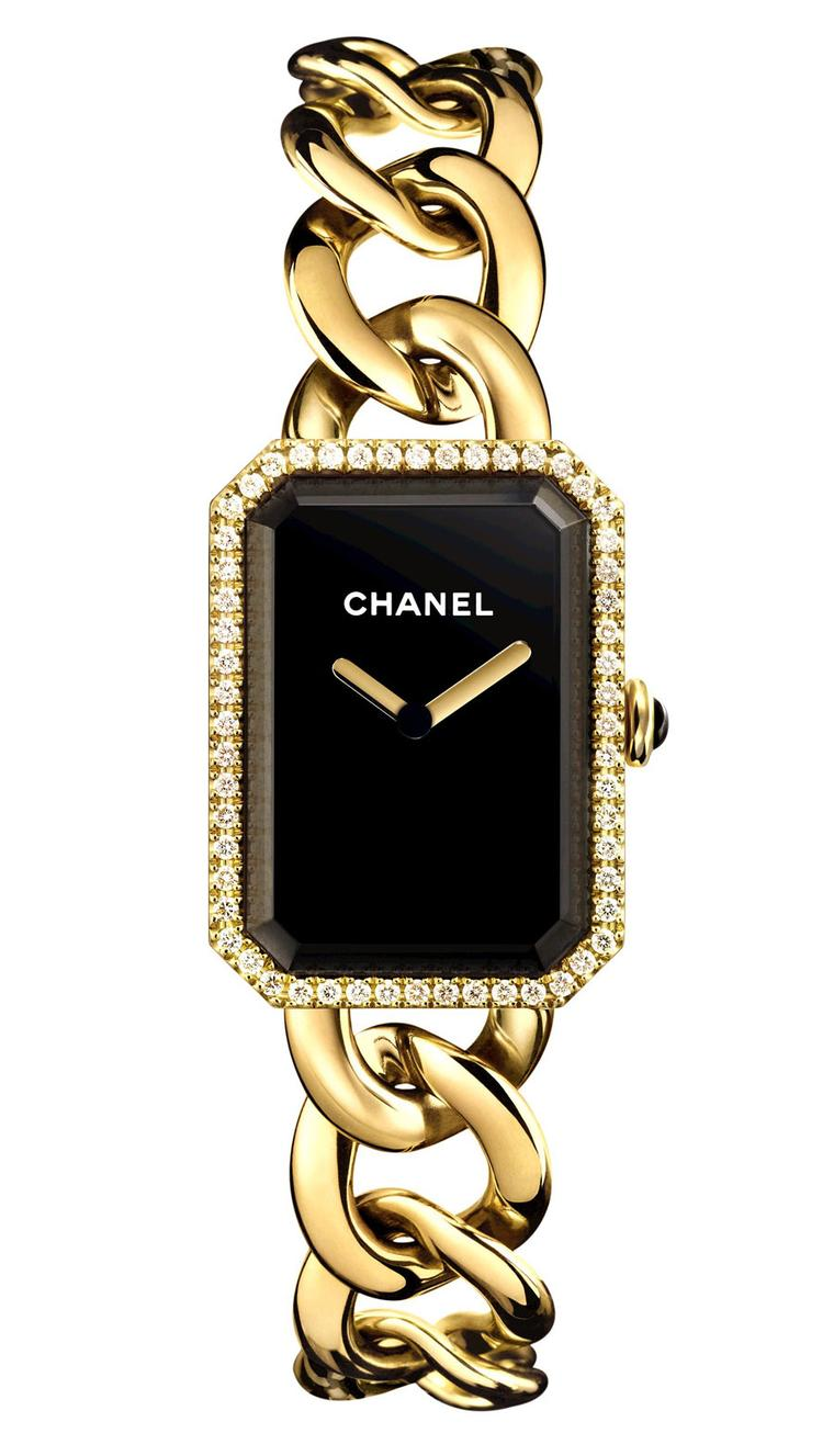 Chanel-Premiere-watch-or-jaune-diamants-GM-H3259