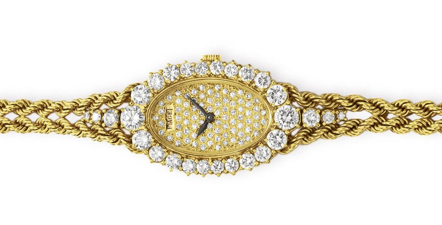 Elizabeth Taylor Watch Piaget Rope