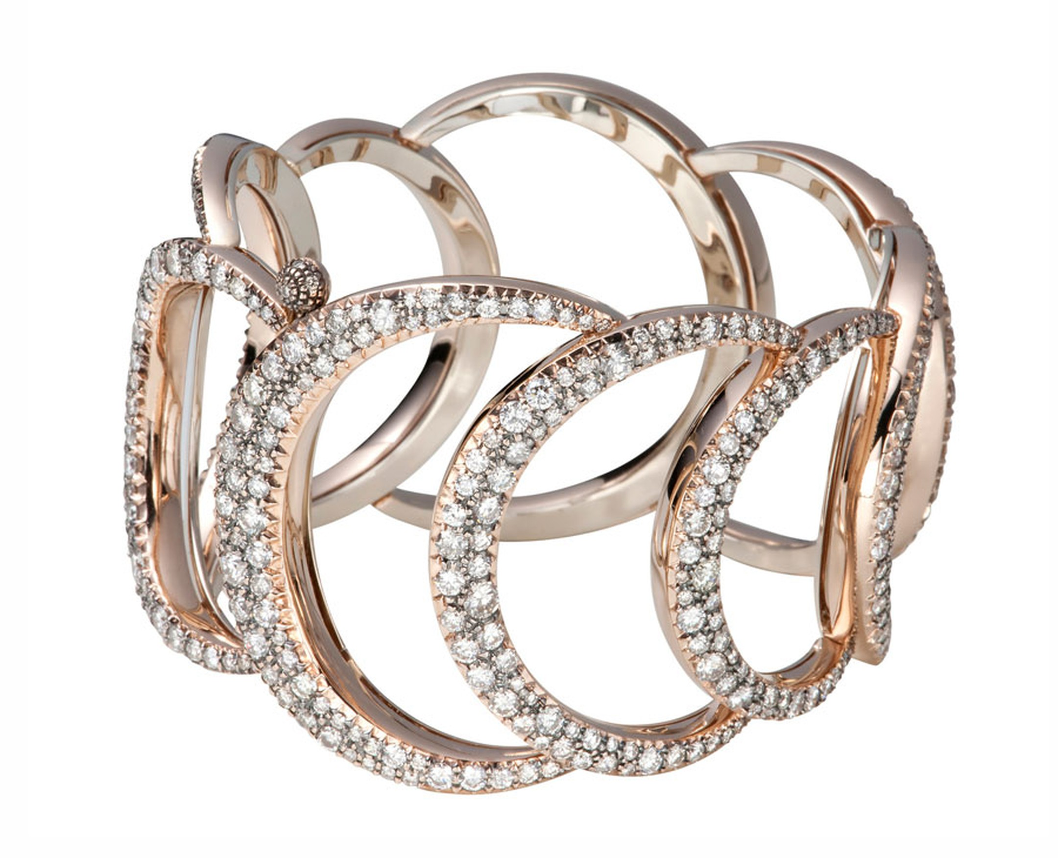H-Stern-Bracelet-in-rose-and-Noble-gold-with-diamonds