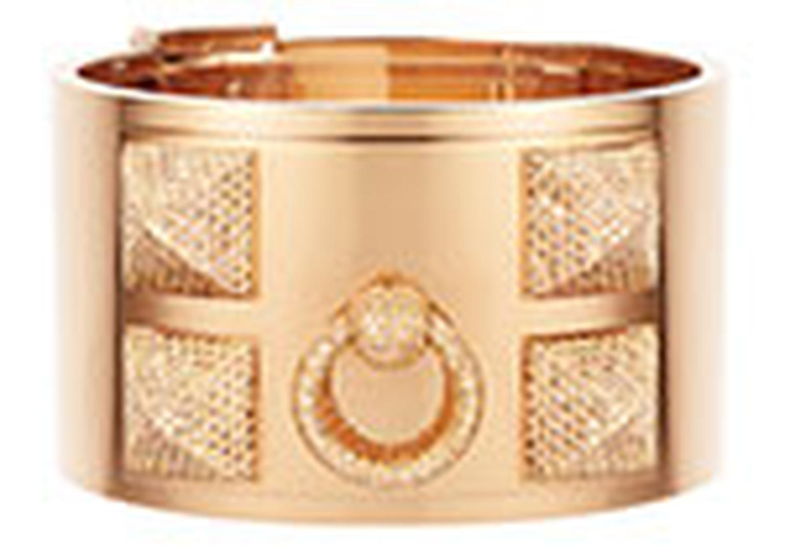 Hermes Cuff gold and diamonds