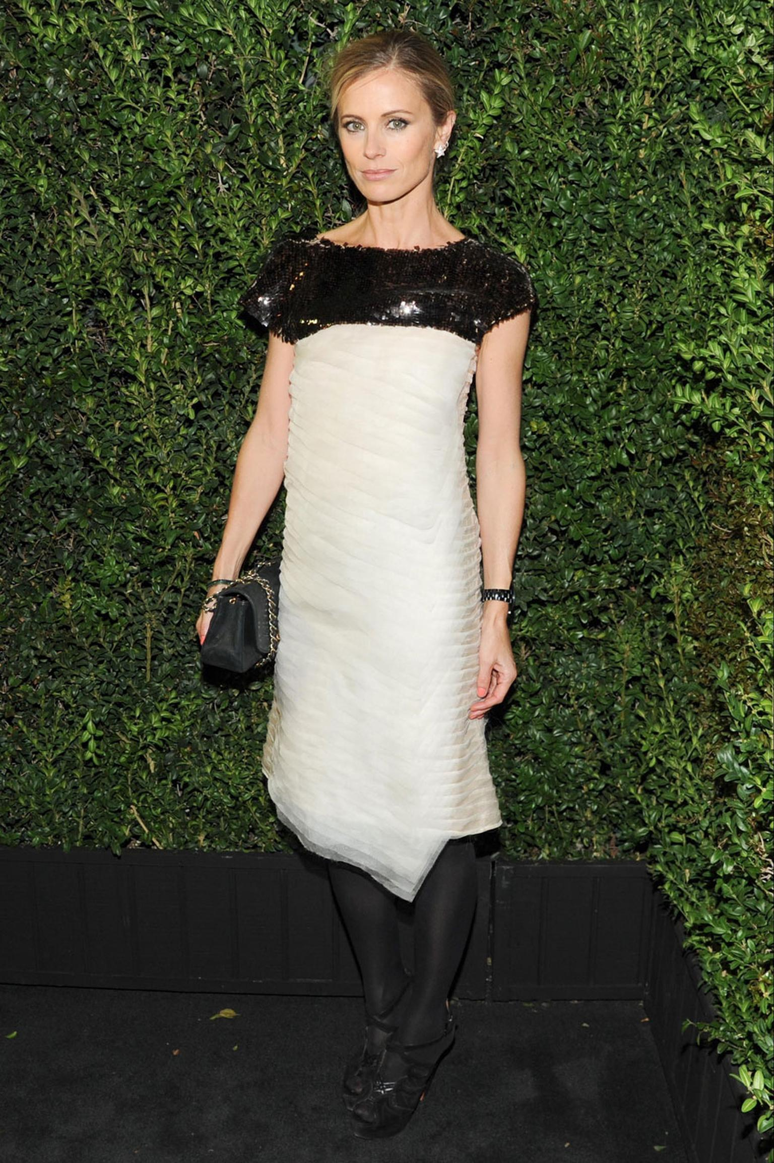 Laura-Bailey-Chanel-and-Charles-Finch-Oscars-Dinner-23-fevrier-2013