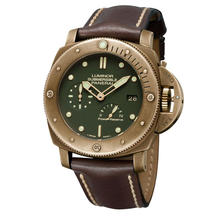 Panerai's new watch collection for 2013