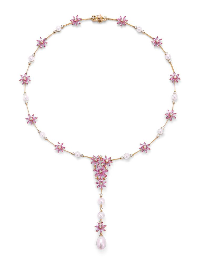 Ganjam 39 s new le jardin jewellery collection the for Jardin necklace