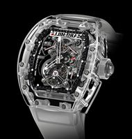 Richard Mille's high-tech watches for 2013