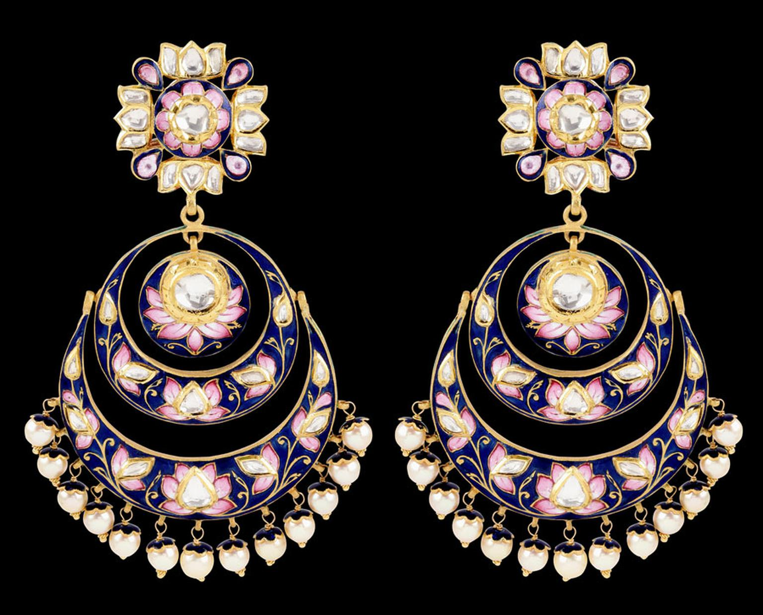 Sunita-Chand-Balas-with-Blue-Pink-Enamel-Work