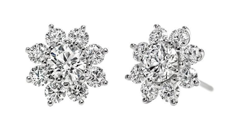 Harry-Winston-Sunflower-Stud-Earrings