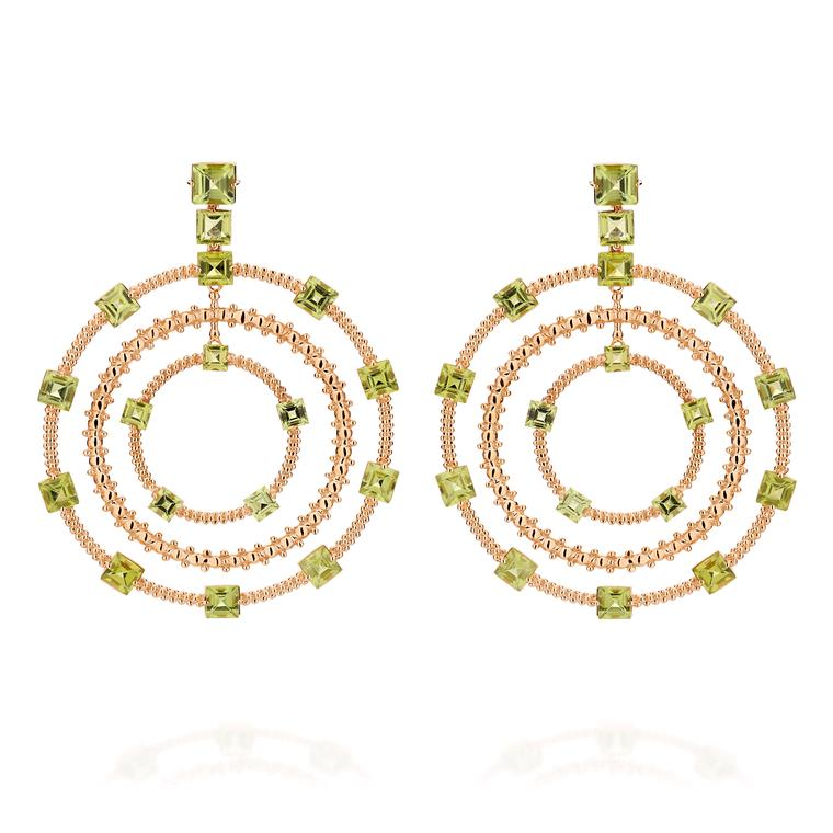 Carla Amorim Municipal peridot earrings