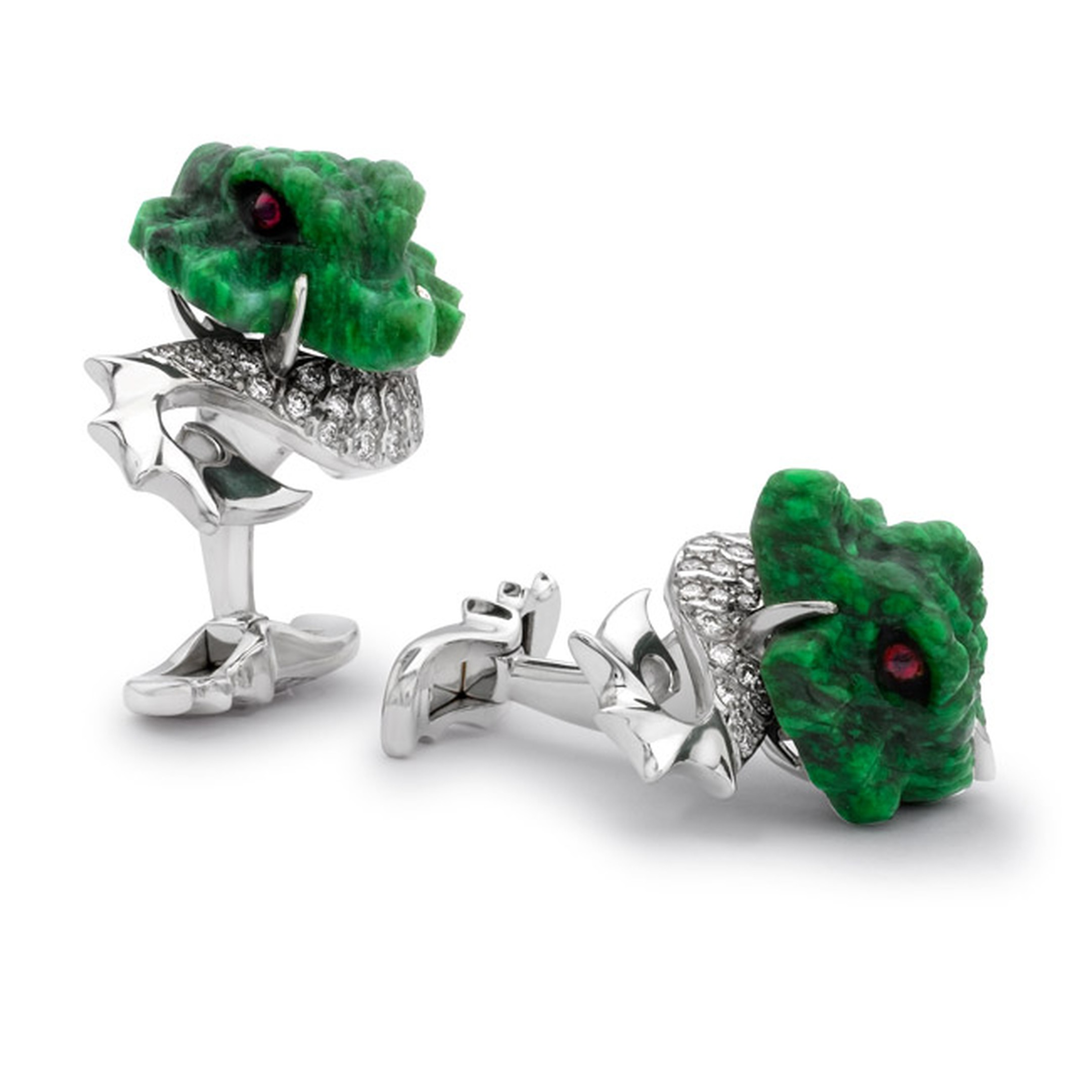 David-Marshall-Dragon-Cufflinks-Main