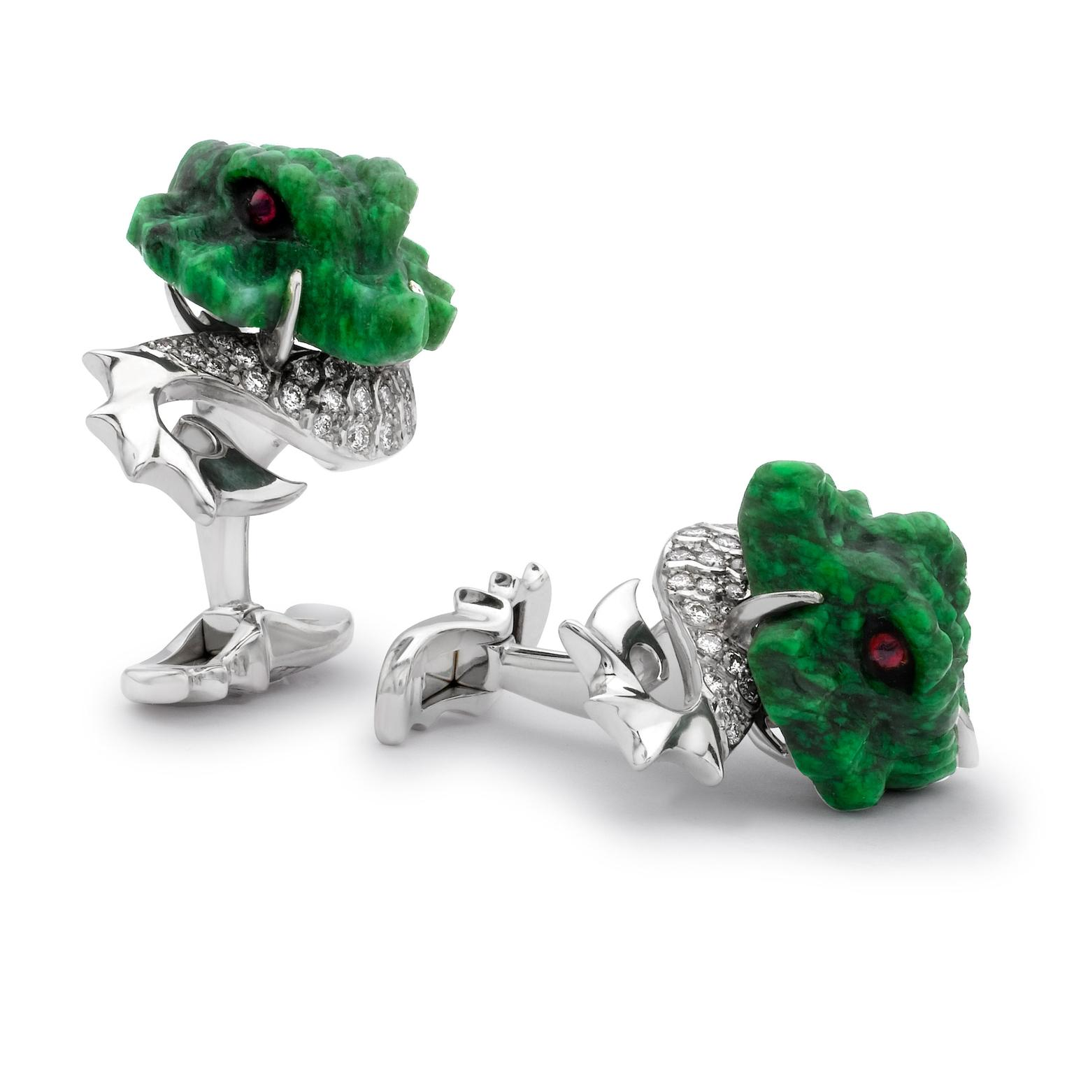 David-Marshall-Dragon-Cufflinks-Zoom