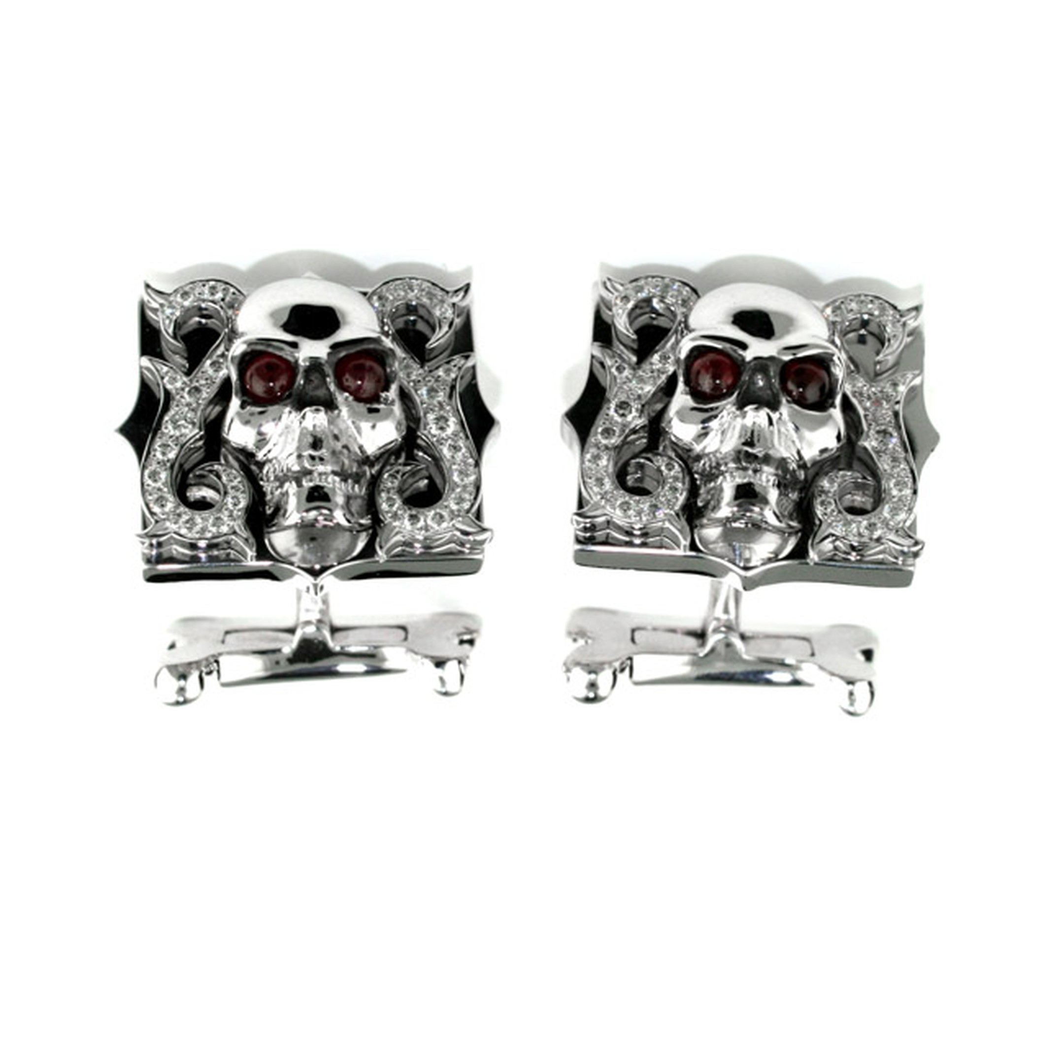 Stephen-Webster-Skull-Cufflinks-Main