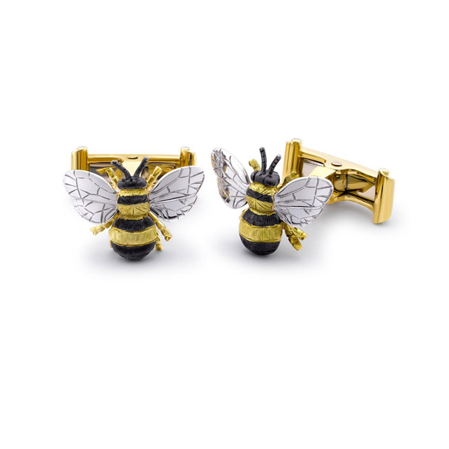 Theo-Fennel-Bee-Cufflinks-Main