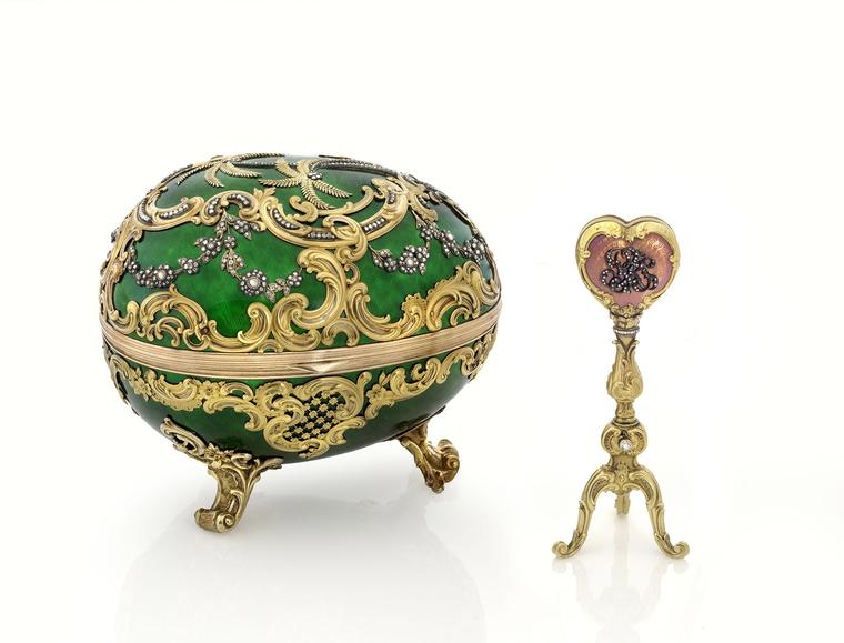 Houston collectors put sensational Faberge collection on show