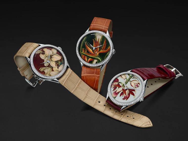 Vacheron Constantin presents new artistic Florilege watches