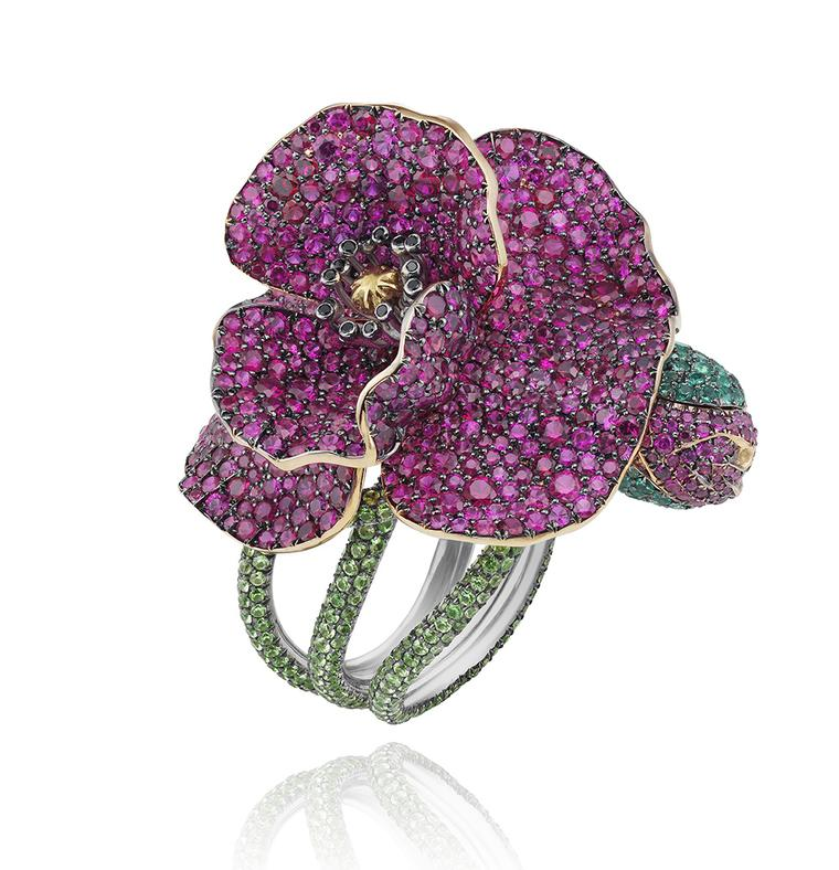 CHOPARDFlowerRingRedCarpetCollection2013
