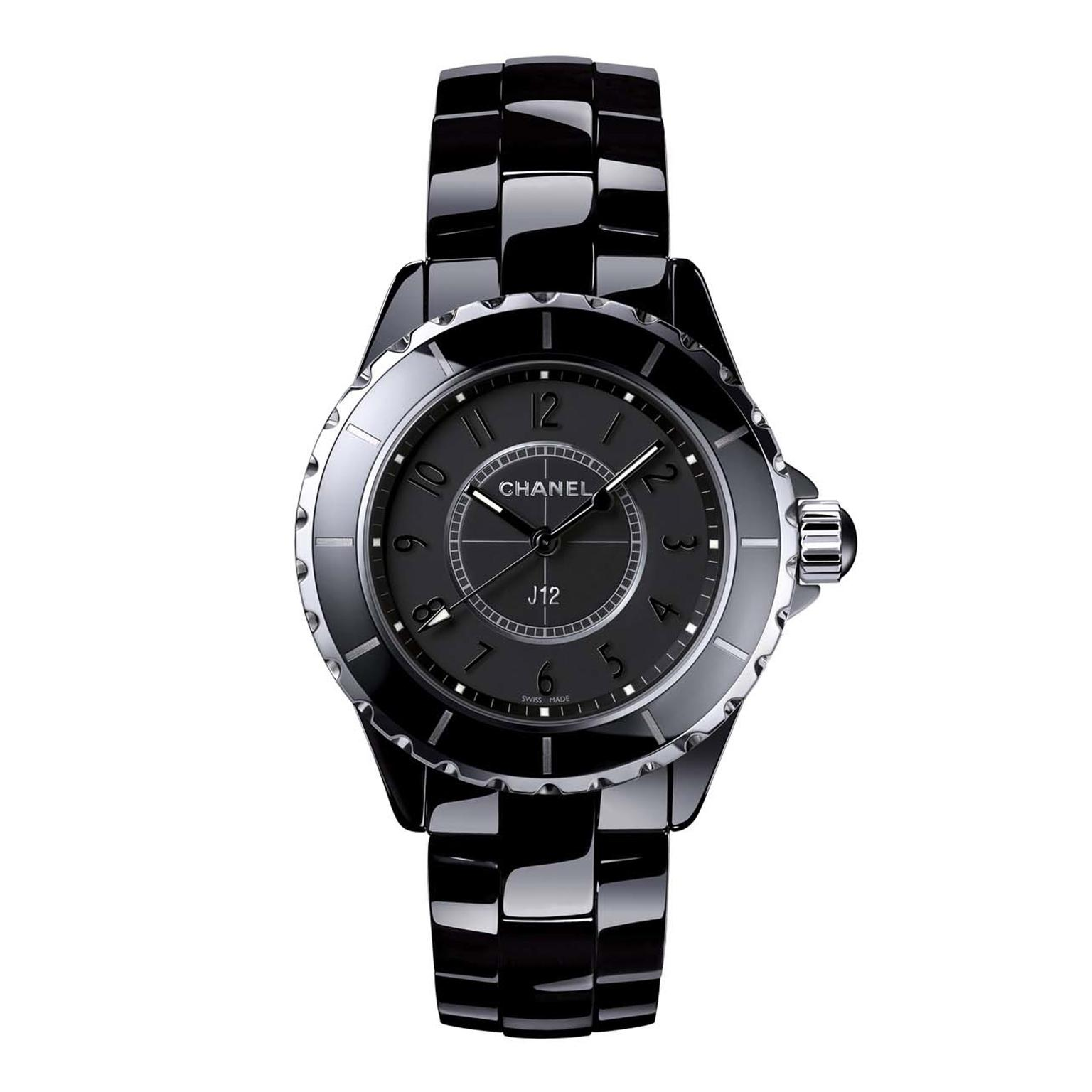J12 Intense Black ceramic watch  6fbf079f5985