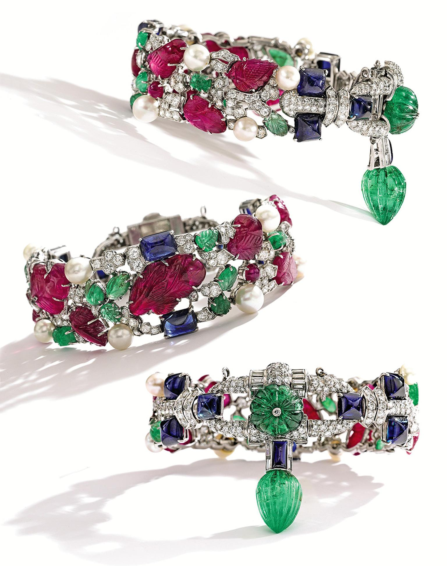 Lot401CartierTuttiFruttiBracelet