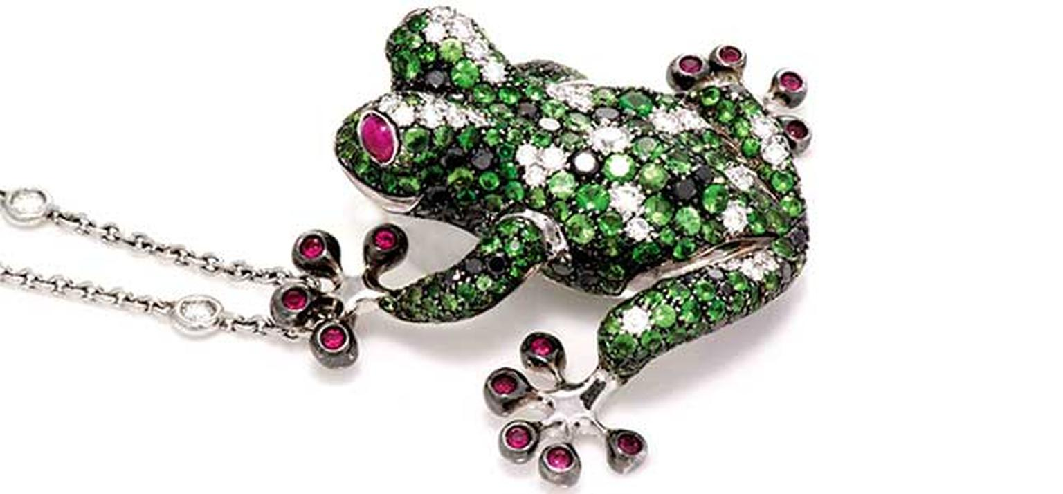 Gismondi frog necklace HP