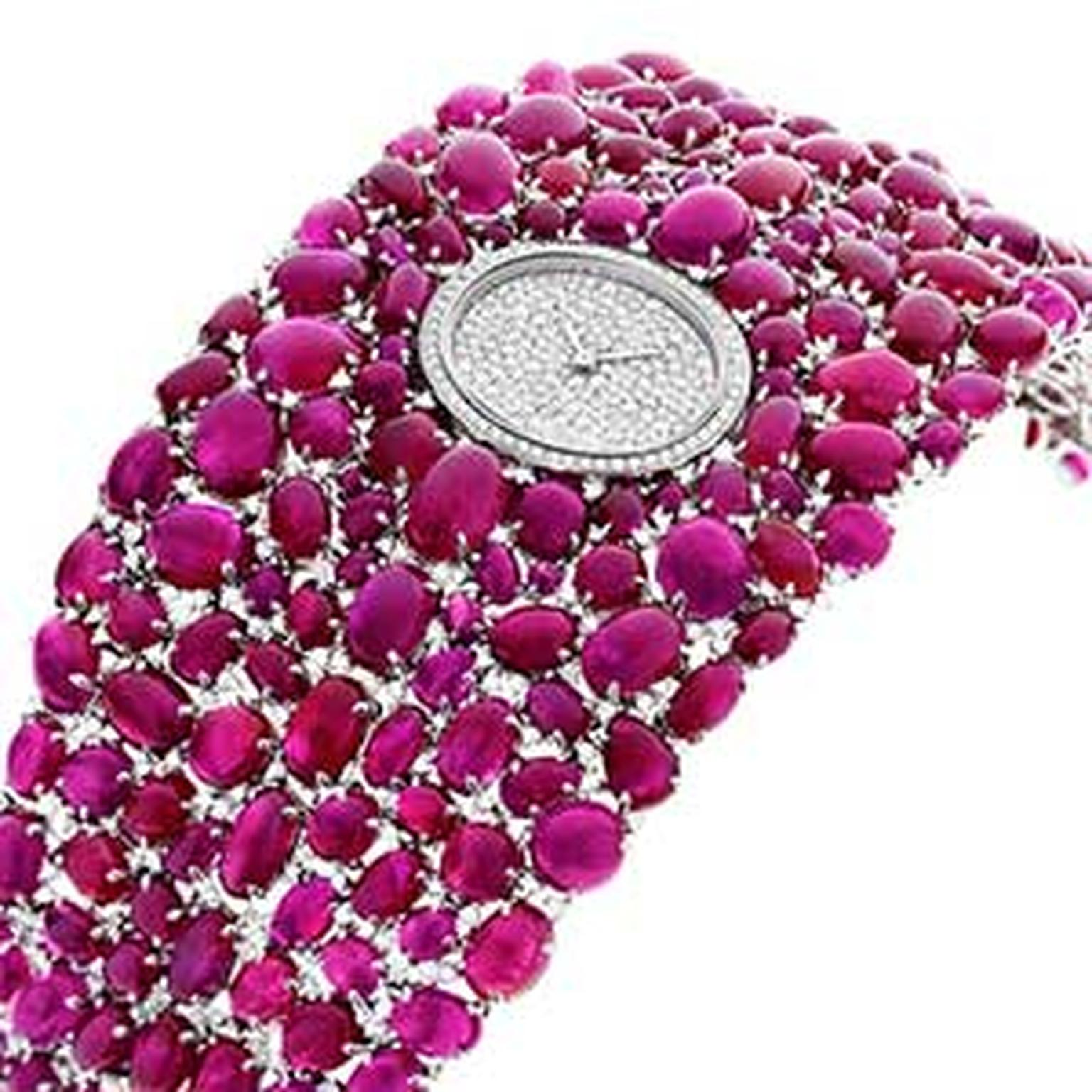 DeLaneau ruby watch