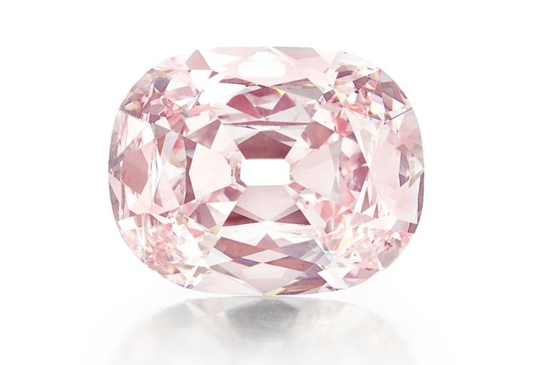 The 'Princie' pink diamond, a rare 34.65 carat pink diamond, was sold to an anonymous buyer for $39.3 million at Christie's New York in April 2013 - the highest price ever paid for a Golconda diamond at auction.